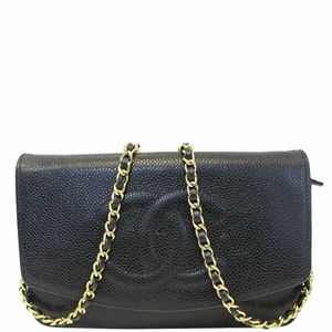 CHANEL Timeless WOC Caviar Leather Crossbody Bag
